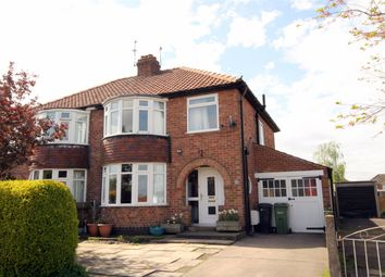 Thumbnail 3 bed semi-detached house for sale in Heather Bank, York