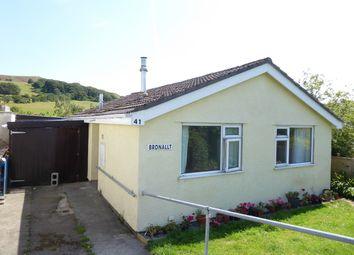 Thumbnail 2 bedroom detached bungalow for sale in 41 Pwllswyddog, Tregaron