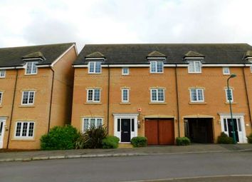 Thumbnail 4 bed town house to rent in Skye Close, Orton Northgate, Peterborough