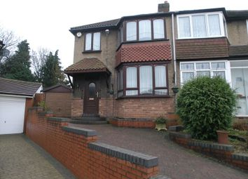 Thumbnail 3 bed semi-detached house for sale in Wesley Avenue, Halesowen