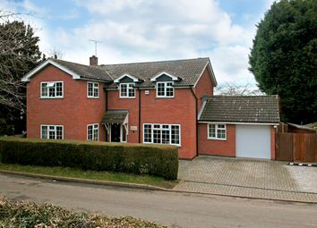 Thumbnail 4 bed detached house for sale in Stocks Road, Scraptoft