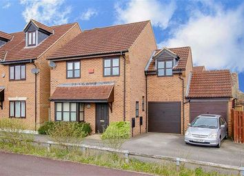Thumbnail 4 bed detached house for sale in Cranbourne Avenue, Westcroft, Milton Keynes