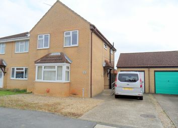 Thumbnail 3 bed semi-detached house for sale in Two Sisters Close, Sutton Bridge, Spalding, Lincolnshire