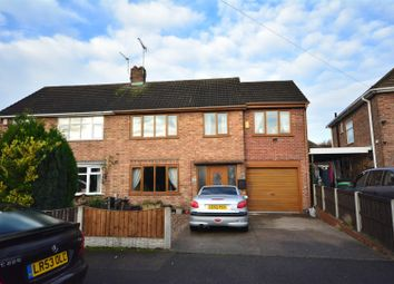 Thumbnail 4 bed semi-detached house for sale in Avon Avenue, Hucknall, Nottingham