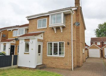 Thumbnail 3 bedroom detached house for sale in Heather Close, Selby