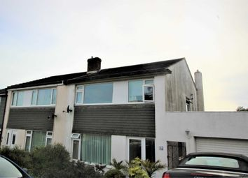 Thumbnail 3 bedroom semi-detached house to rent in Long Meadow Close, Plympton