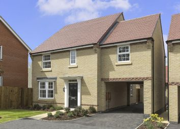 "Thumbnail 4 bed detached house for sale in ""Hurst"" at Stevens Court, Wellingborough Road, Earls Barton, Northampton"