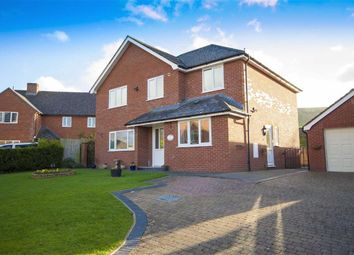 Thumbnail 4 bed detached house for sale in Parc Caradog, Trewern, Welshpool
