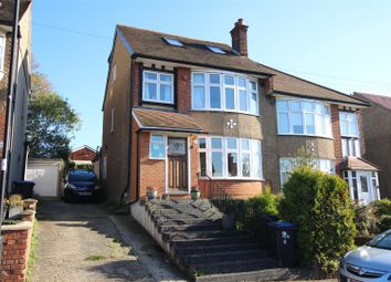 Thumbnail 4 bed semi-detached house to rent in Slades Gardens, Enfield