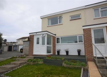 Thumbnail 3 bedroom end terrace house for sale in Helens Mead Close, Watcombe Park, Torquay, Devon