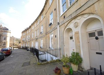 Thumbnail 1 bed flat to rent in Widcombe Crescent, Bath