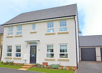 Thumbnail 4 bed detached house for sale in Greystone Walk, Cullompton, Devon