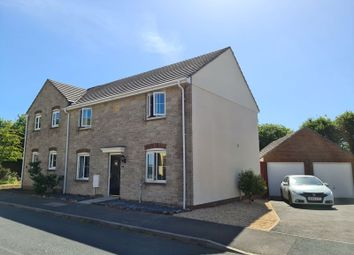 Thumbnail 4 bed semi-detached house for sale in Robin Drive, Launceston