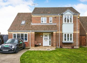 Thumbnail 4 bedroom detached house for sale in Rookery Walk, Lakenheath, Brandon