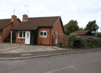 Thumbnail 2 bed detached bungalow for sale in Harris Close, Broughton Astley, Leicester
