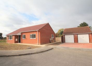 Thumbnail 3 bedroom detached bungalow for sale in Heron Way, Hickling, Norwich