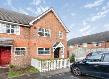 Thumbnail 3 bed end terrace house for sale in Brookwood, Woking, Surrey