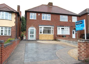 Thumbnail 3 bed semi-detached house to rent in Church Street, Ilkeston, Derbyshire