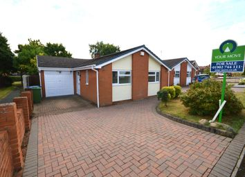 Thumbnail 2 bed bungalow for sale in Edge Hill Drive, Perton, Wolverhampton