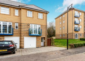 Thumbnail 4 bed town house for sale in Newland Gardens, Hertford