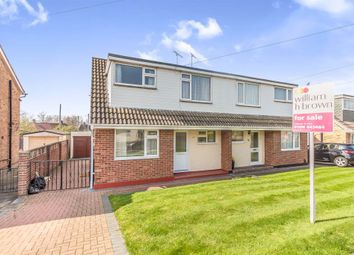 Thumbnail 3 bedroom semi-detached house for sale in Romford Close, Colchester