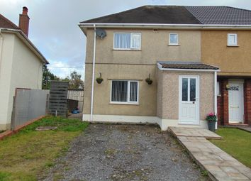 Thumbnail 2 bed semi-detached house for sale in Dwyfor, Llanelli