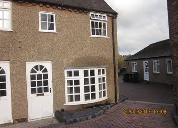 Thumbnail 2 bed semi-detached house to rent in Bretby Road, Newhall