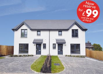 Thumbnail 3 bedroom semi-detached house for sale in 6 Acremoar Drive, Off The A922/South Street, Kinross