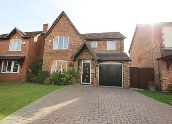 Thumbnail 4 bed detached house for sale in Dovecote Drive, Haydock, St. Helens