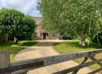 Thumbnail 4 bed detached house for sale in Ampney Crucis, Cirencester