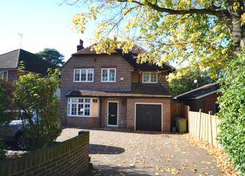 Thumbnail 4 bed detached house to rent in Brooklands Road, Weybridge