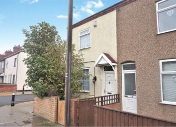 Thumbnail 3 bed end terrace house for sale in Fraser Street, Grimsby
