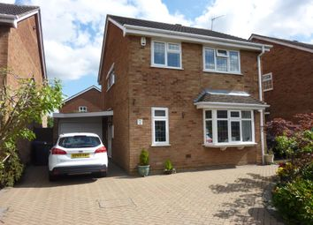 Thumbnail 4 bed detached house for sale in Norwood Close, Hinckley