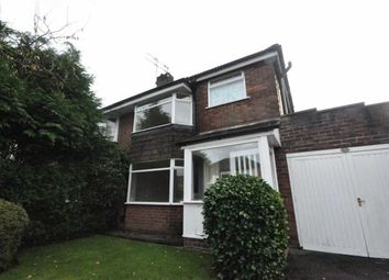 Thumbnail 3 bed semi-detached house to rent in Nursery Road, Cheadle Hulme, Cheadle