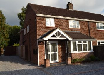 Thumbnail 4 bed semi-detached house to rent in Branksome Hill Road, College Town, Sandhurst