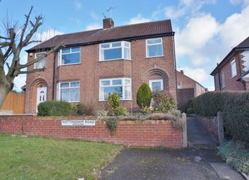 Thumbnail 3 bed semi-detached house for sale in Nottingham Road, Newthorpe