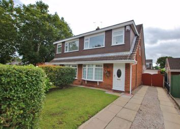 Thumbnail 3 bed semi-detached house for sale in Hillwood Close, Spital, Wirral