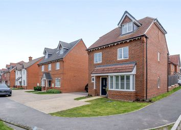 Thumbnail 4 bed detached house for sale in Meadowbrook, Woolton Hill, Newbury