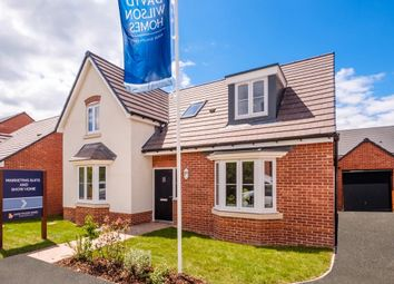 "Thumbnail 4 bed detached house for sale in ""Burton"" at The Walk, Withington, Hereford"