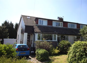 Thumbnail 4 bed semi-detached house for sale in Wherwell Road, Brighouse, West Yorkshire