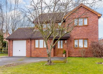 Thumbnail 4 bed detached house for sale in Coppice Close, Hereford, Herefordshire