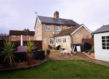 Thumbnail 3 bedroom semi-detached house for sale in Balsham Road, Linton Cambridge