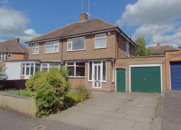 Thumbnail 3 bed semi-detached house for sale in Wintersdale Road, Leicester, Leicestershire