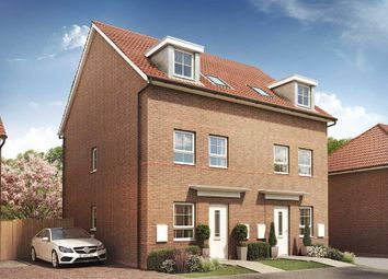 "Thumbnail 3 bed semi-detached house for sale in ""Norbury"" at Morgan Drive, Whitworth, Spennymoor"