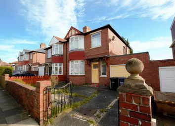 Thumbnail 3 bedroom semi-detached house for sale in Cliftonville Avenue, Newcastle Upon Tyne