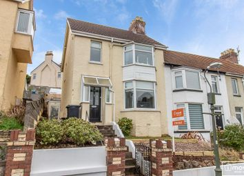 Thumbnail 3 bed end terrace house for sale in Sherwell Park Road, Chelston, Torquay