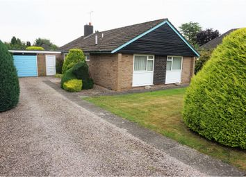Thumbnail 3 bed detached bungalow for sale in Morda Close, Oswestry