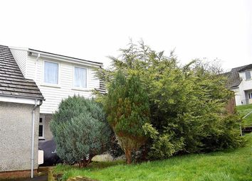 Thumbnail 3 bed end terrace house for sale in Heol Derwen, Merlins Bridge, Haverfordwest