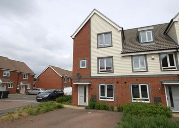 Thumbnail 4 bed terraced house for sale in Heron Road, Queenshills, Norwich