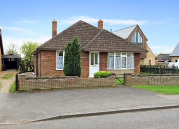 Thumbnail 3 bed detached bungalow for sale in West Street, Over, Cambridge
